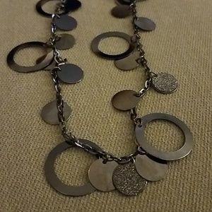 Jewelry - Silver glitter necklace